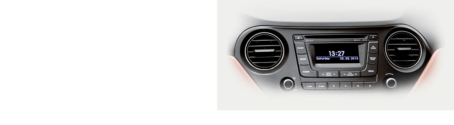 Аудиосистема (Radio/MP3/CD) Hyundai i10