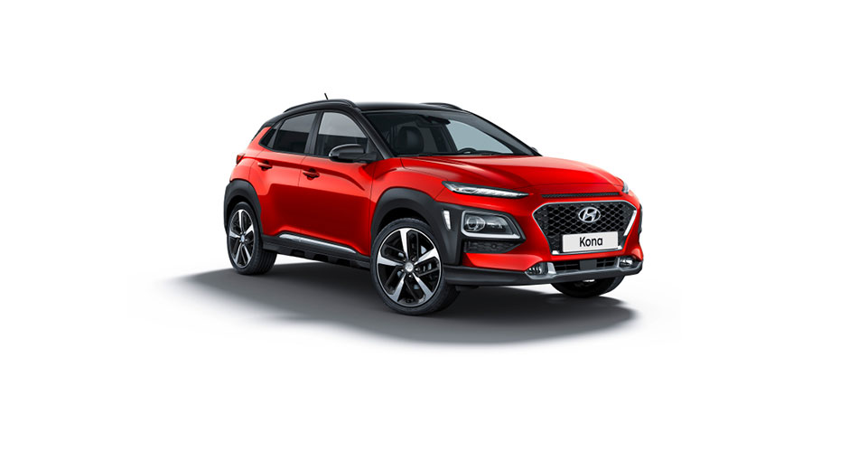 Hyundai Kona Red
