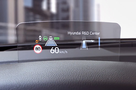 Head-Up Display (HUD) Kona