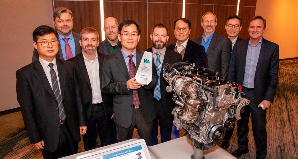 Два двигателя Hyundai Motor удостоились наград
